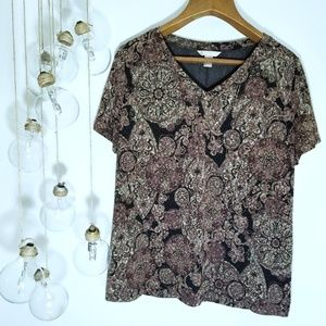 White Stag Blouse Floral XL